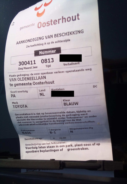 bezwaar maken parkeerboete