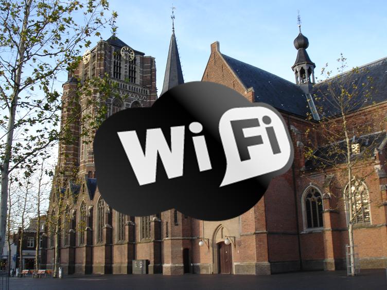 Satire: Commotie om WiFi-straling op Markt Oosterhout