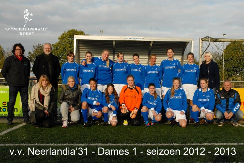 Sport: Dames Neerlandia '31 najaarskampioen 2012-2013