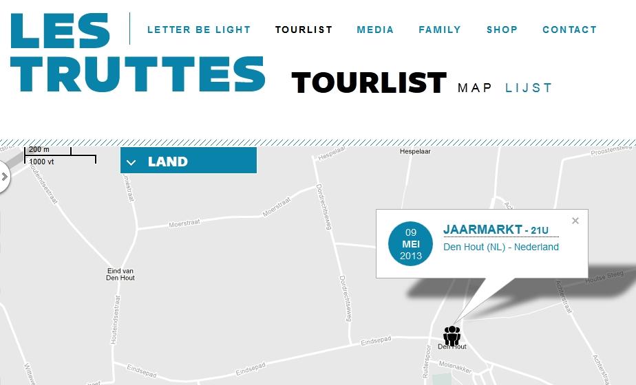 Nieuws: Les Truttes spelen op Jaarmarkt Den Hout
