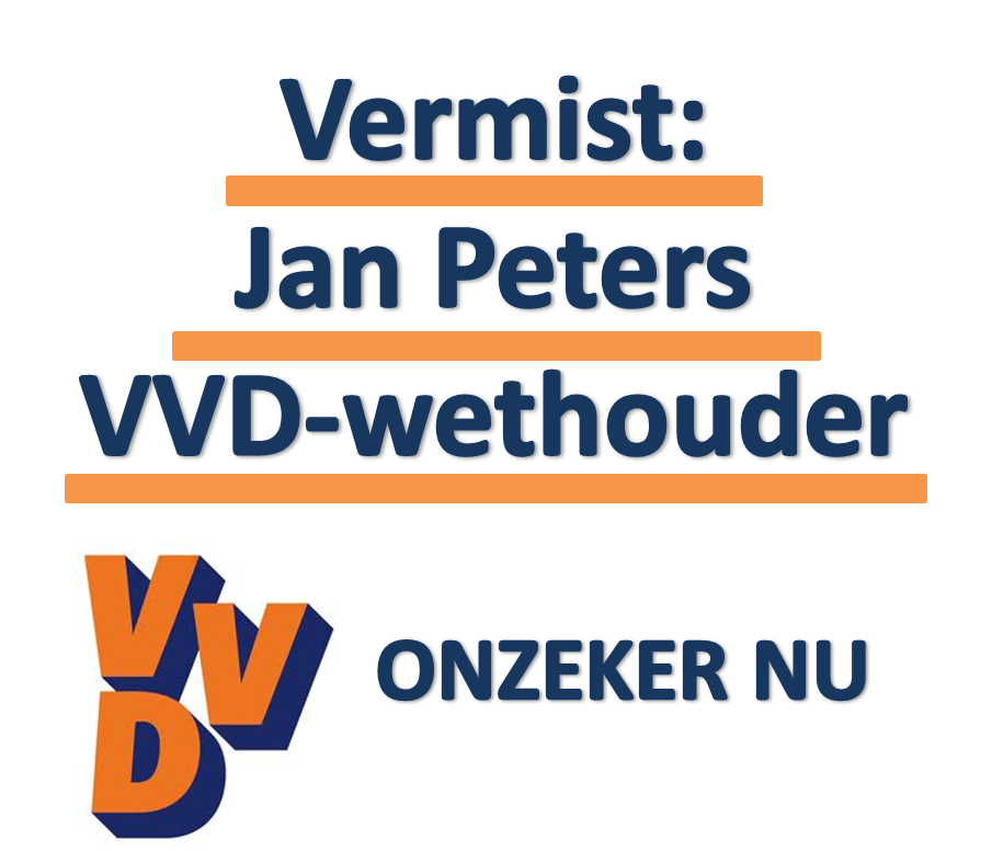 Satire: Wethouder Jan Peters vermist