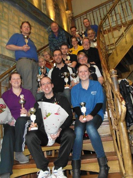 Sport: Zinderende finales bij de verenigingskampioenschappen van de BVO