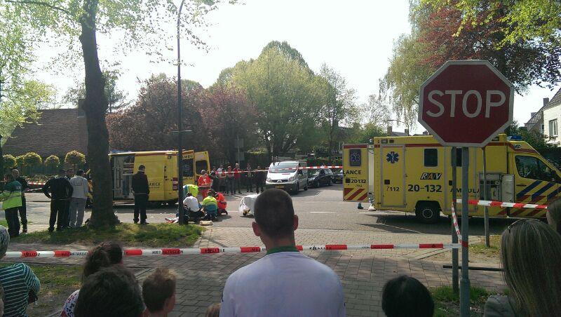 Nieuws: Ongeval tussen motor en fietser op Slotlaan