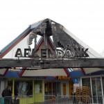 Fotoreportage: mogelijke ramkraak en brandstichting Arkendonk