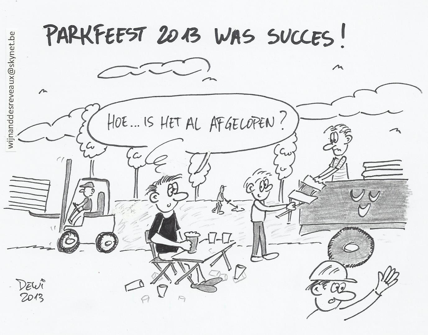 Opgetekend: en zo werd het toch nog een goed Parkfeest