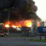 Nieuws: Nabeschouwing grote brand ELD in Oosterhout
