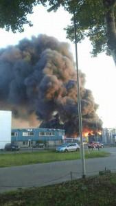 Grote Brand ELD Oosterhout 2
