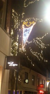 Nieuwe kerstverlichting binnenstad © OokvanWosterhout