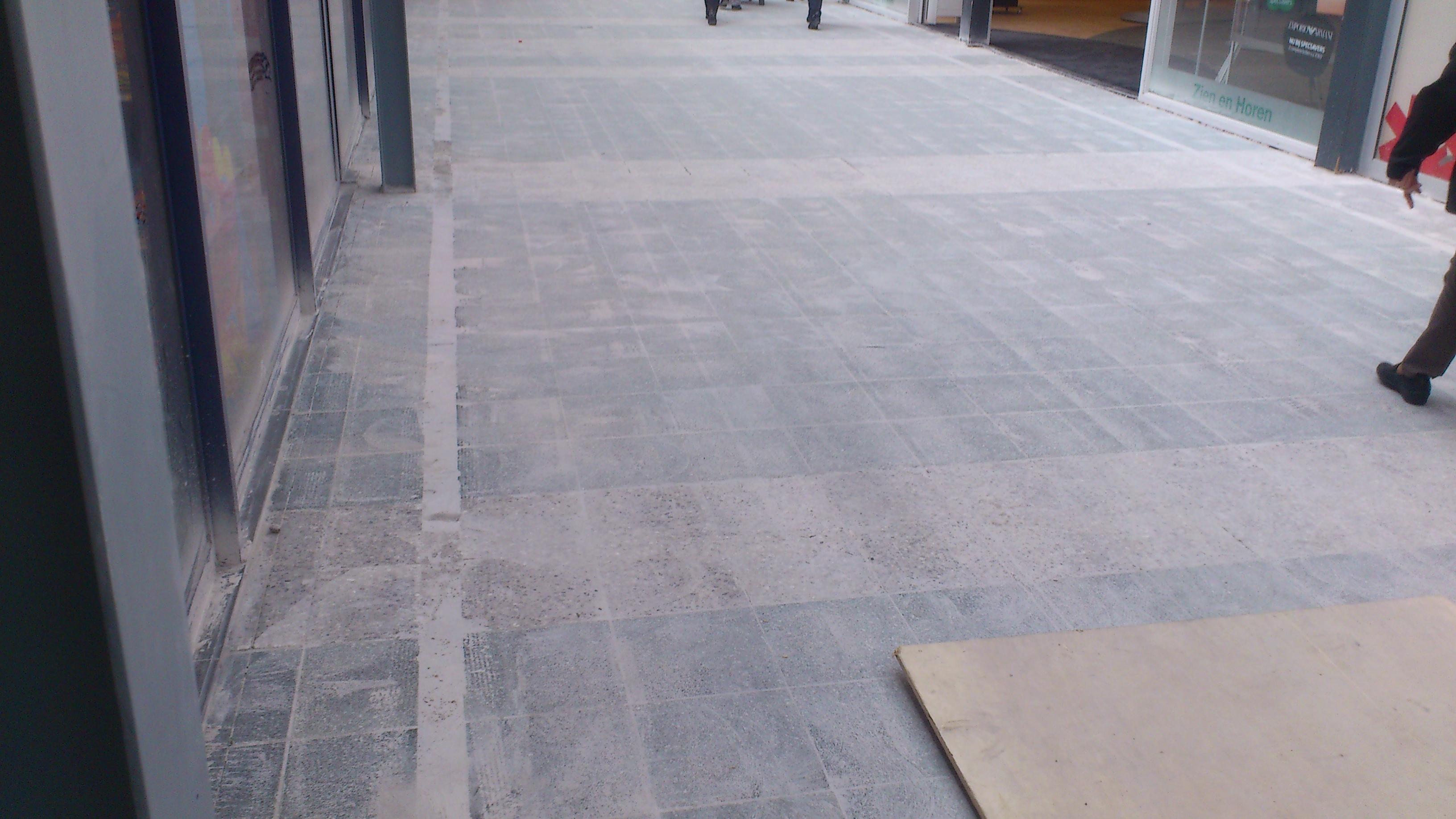 Nieuws: Renovatie vloer Arendshof bijna gereed