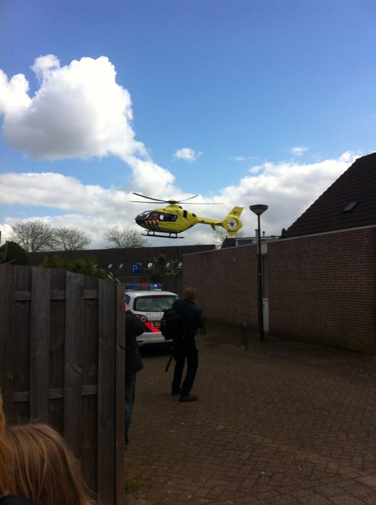 Nieuws: Traumahelikopter rukt uit naar incident Dommelbergen [Foto's]