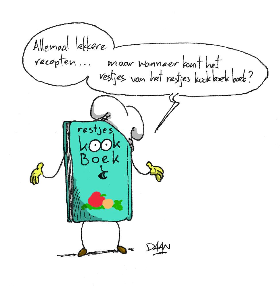 Opgetekend: MEK komt met restjes kookboek