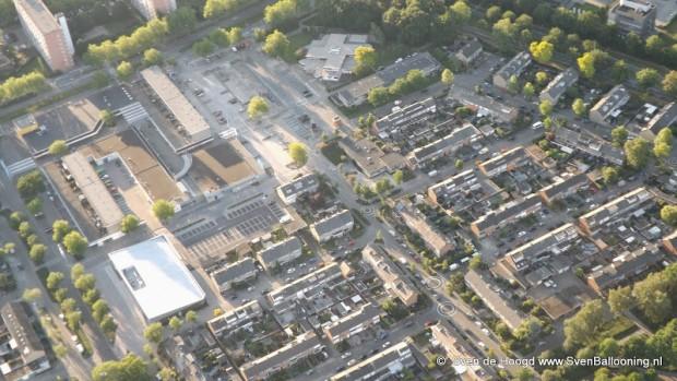 Winkelcentrum Zuiderhout © Sven Ballooning