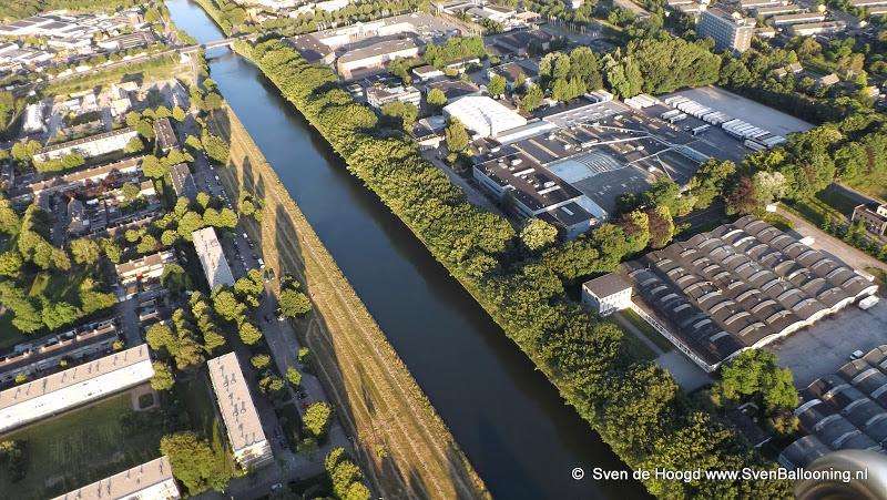 Oosterhout van Boven: Het Wilhelminakanaal met haar prachtige omgeving
