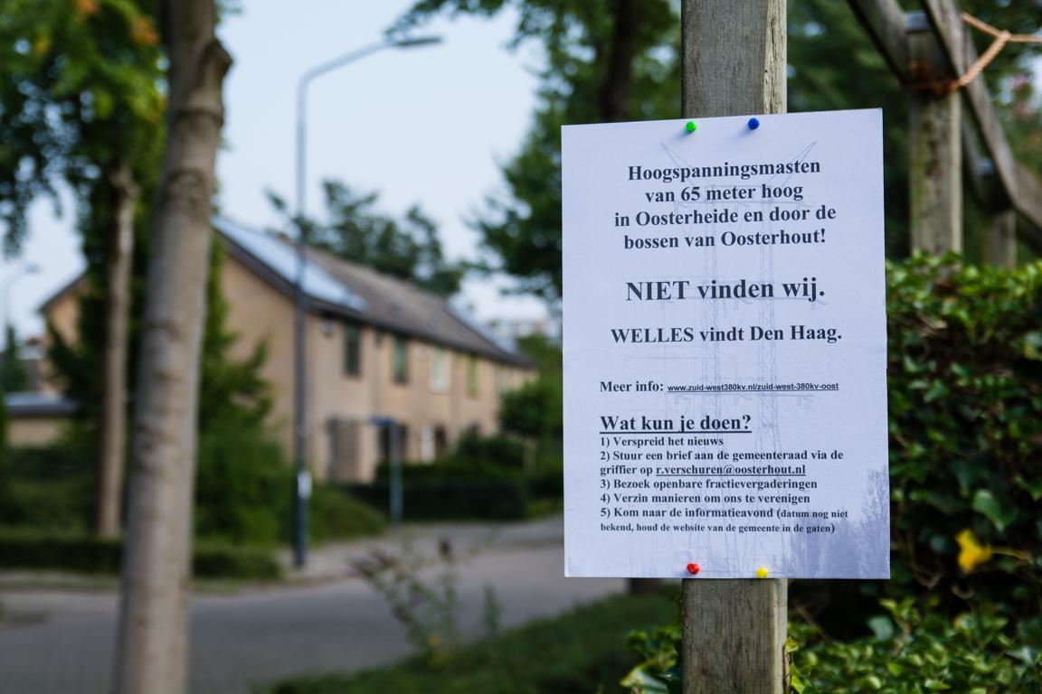 [NIEUWS] Petitie gestart tegen hoogspanningsmasten Oosterheide