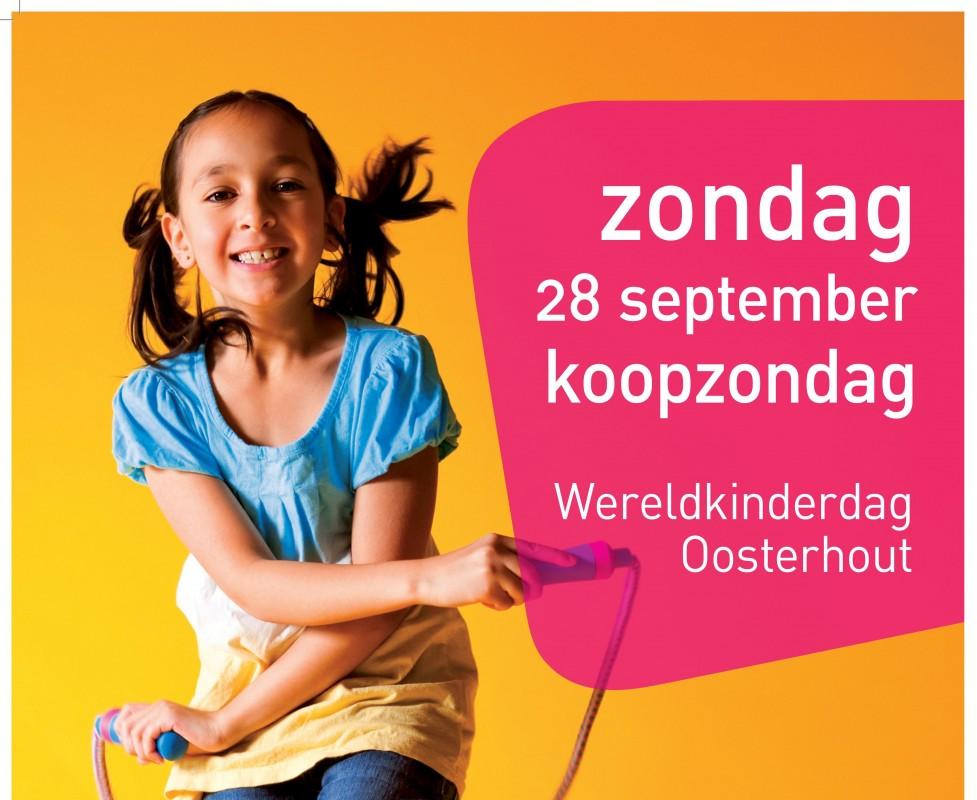 [NIEUWS] Zondag Wereldkinderdag in Oosterhoutse binnenstad!