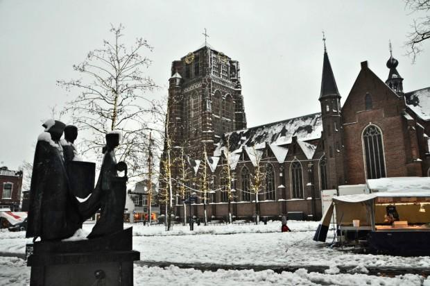 sneeuw markt