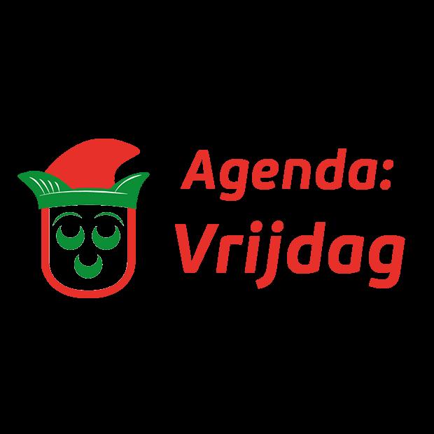 Agenda vrijdag