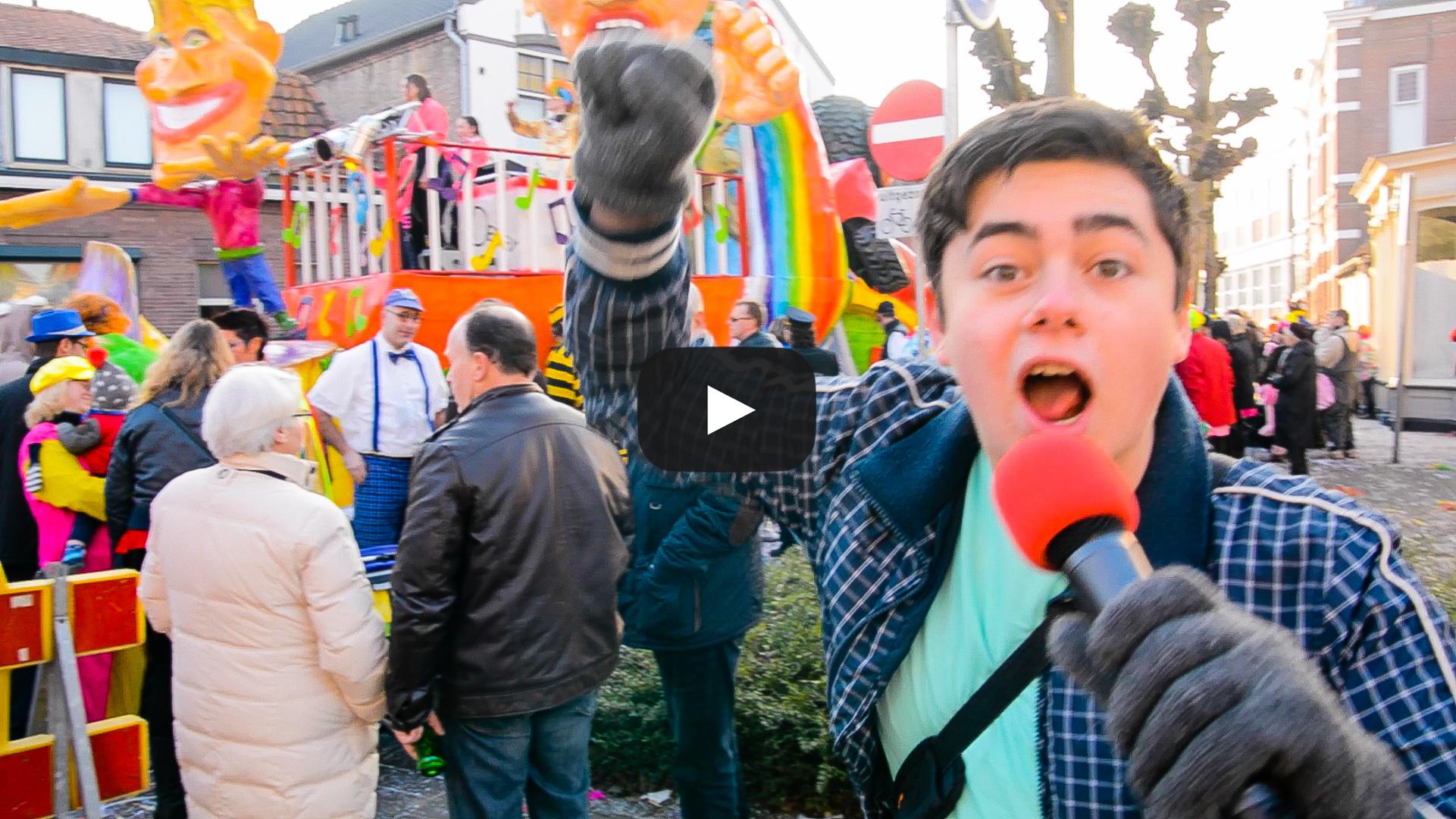 [VIDEO] Roland bij de optocht #1 – Veul Leut!