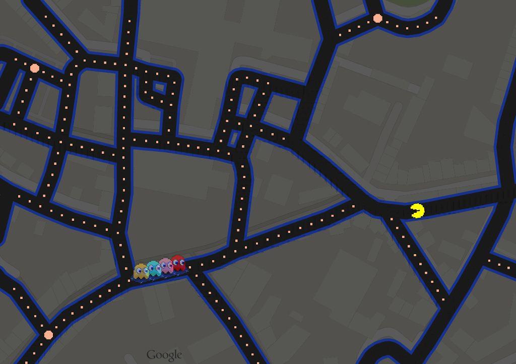 [HUMOR] Speel nu Pac-man in de Oosterhoutse binnenstad!