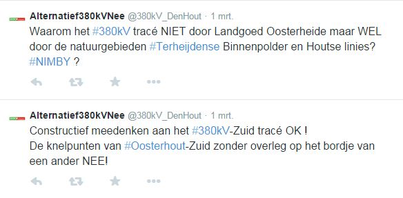 Tweet 380kV Den Hout