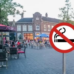 [STELLING] Moeten de terrassen op de markt rookvrij worden?