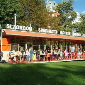 [BINNENSTAD] Maakt een kiosk het Slotpark levendiger?