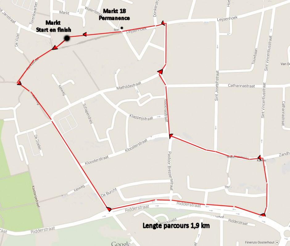 parcours Hart van Oosterhout