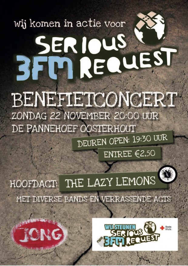 Serious requesr benefiet avond