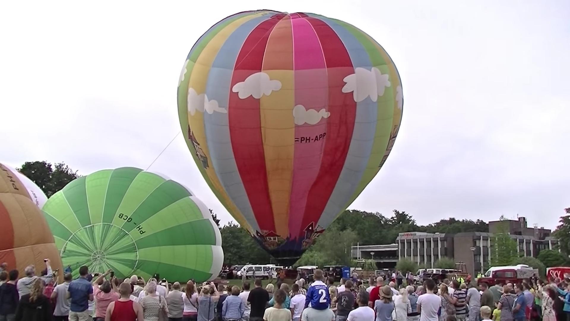 [VIDEO] Eerste Oosterhoutse ballonfestival groot succes!