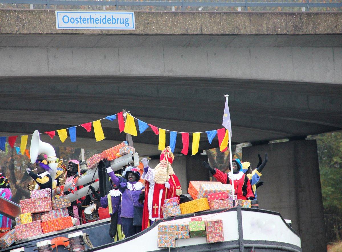 [NIEUWS] Sinterklaas zet voet aan de grond in Oosterhout!