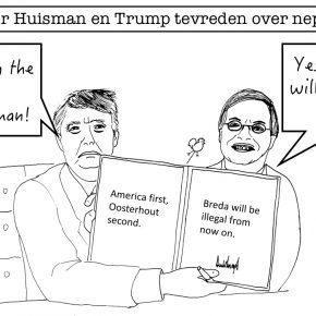 [OPGETEKEND] Huisman en Trump boeken succes tijdens nepontmoeting