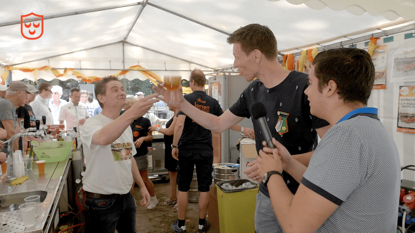 Bomast-bier op het Parkfeest. © Kaj Moerenhout Media
