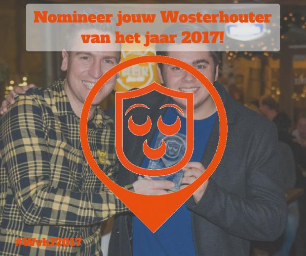 Nomineer jouw Wosterhouter van het jaar 2017!