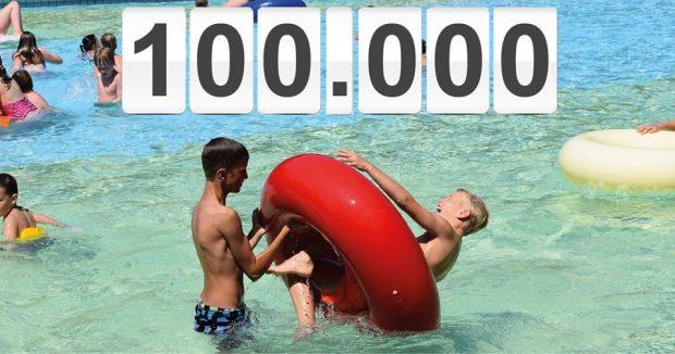 [NIEUWS] Recreatieoord de Warande tikt 100.000 bezoekers aan!