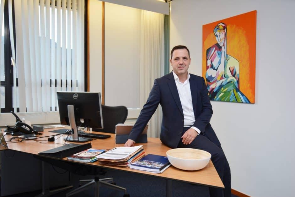 Wethouder Clemens Piena