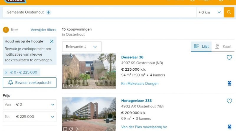 Koopwoningen-Gemeente-Oosterhout-funda
