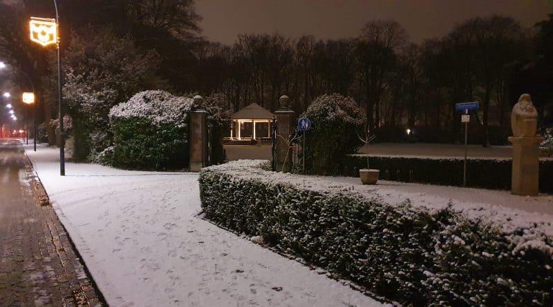 Oosterhout Slotpark Sneeuw